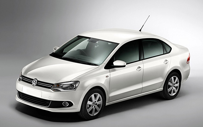 Аренда Volkswagen Polo Sedan на свадьбу Полтава