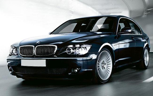 Аренда BMW 7 на свадьбу Полтава
