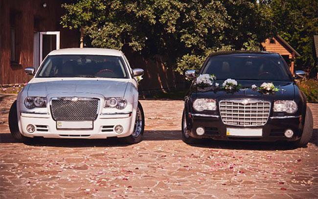Аренда Chrysler 300C на свадьбу Полтава