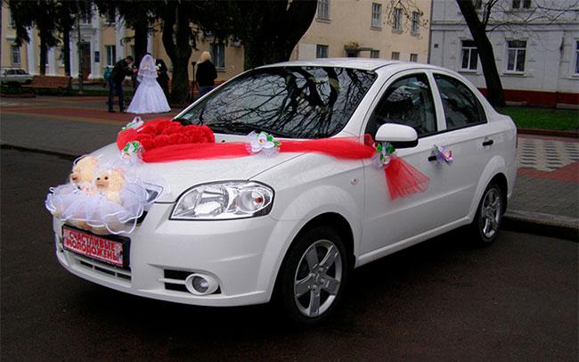 Аренда Chevrolet Aveo на свадьбу Полтава