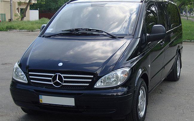 Аренда Микроавтобус Mercedes Benz Vito на свадьбу Полтава