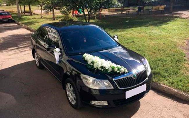 Аренда Skoda Octavia A5 на свадьбу Полтава