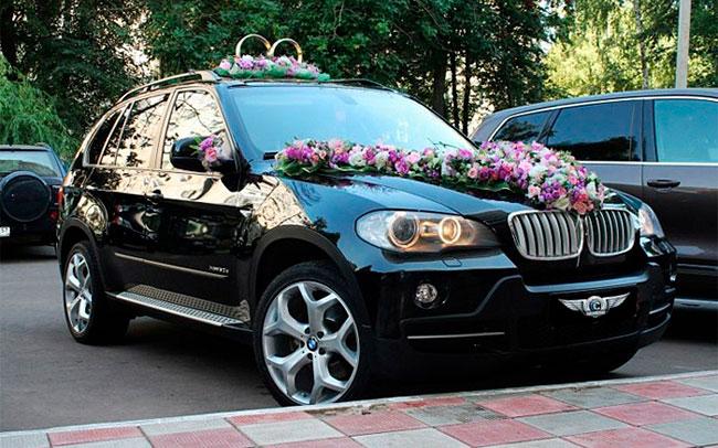 Аренда BMW X5 на свадьбу Полтава