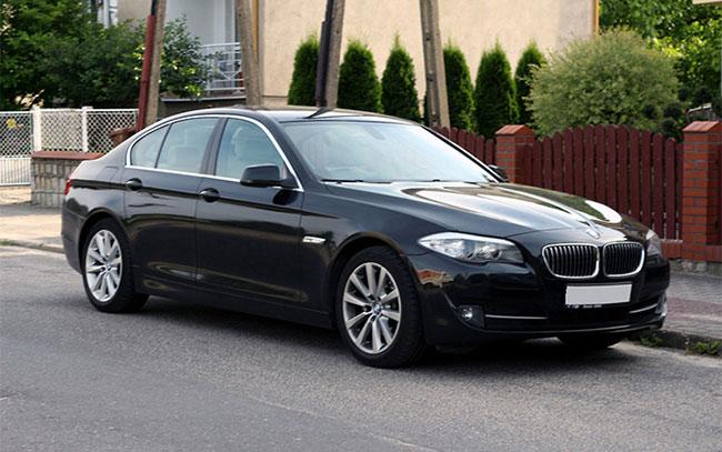 Аренда BMW 5 F10 на свадьбу Полтава