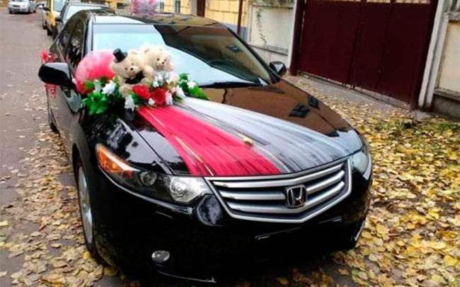 Аренда Honda Accord NEW на свадьбу Полтава