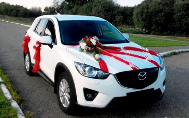 Аренда Mazda CX5 на свадьбу Полтава
