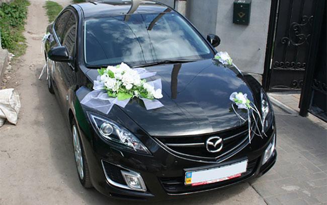 Аренда Mazda 6 на свадьбу Полтава