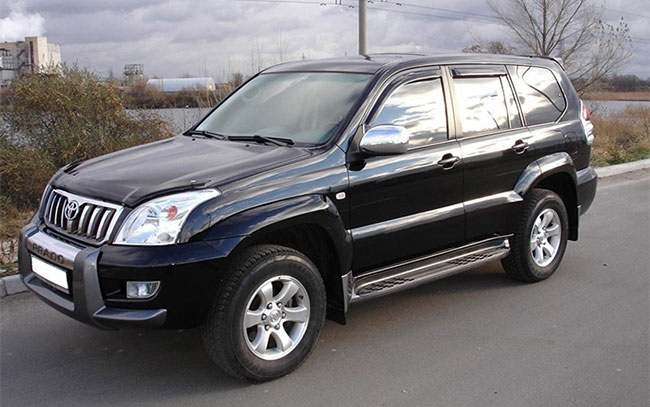 Аренда Toyota Land Cruiser Prado на свадьбу Полтава