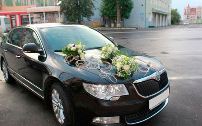 Аренда Skoda SuperB на свадьбу Полтава