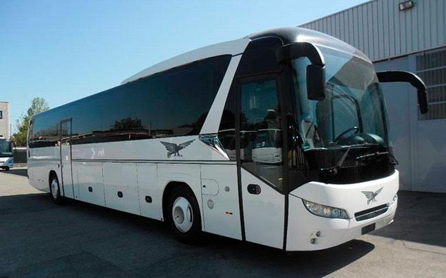 Аренда Автобус Neoplan Jetliner на свадьбу Полтава
