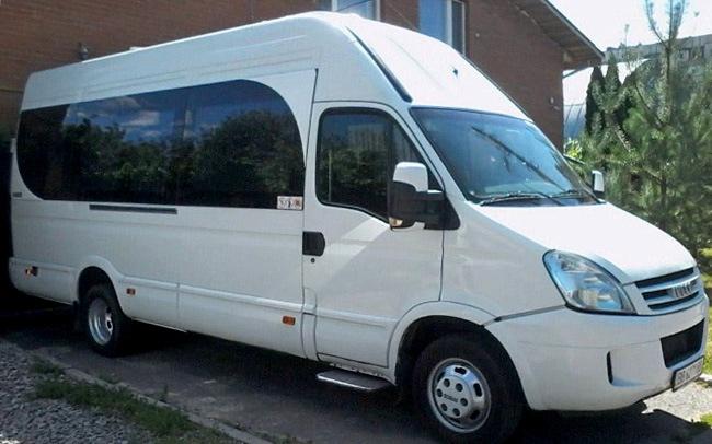 Аренда Микроавтобус Iveco Daily на свадьбу Полтава