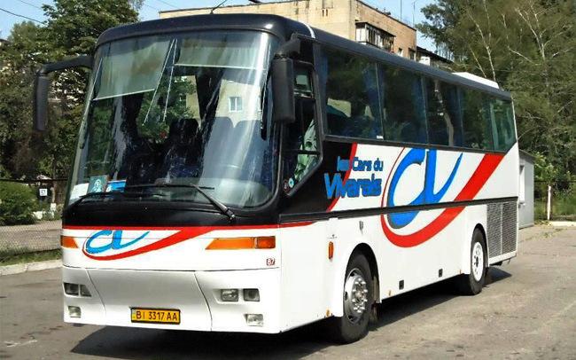 Аренда Автобус Bova 10340A на свадьбу Полтава
