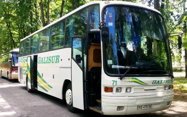 Аренда Автобус Scania Pegaso на свадьбу Полтава