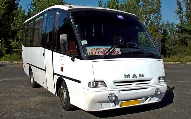 Аренда Автобус MAN 8.150 на свадьбу Полтава