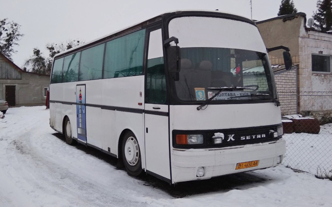 Аренда Автобус Setra S 210 на свадьбу Полтава