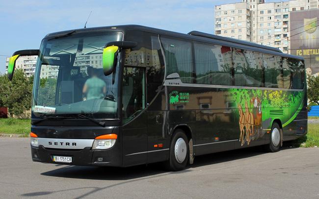 Аренда Автобус Setra 415 на свадьбу Полтава