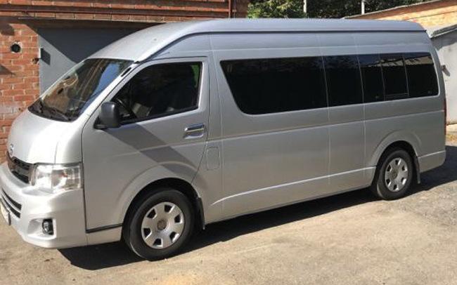 Аренда Микроавтобус Toyota Hice на свадьбу Полтава