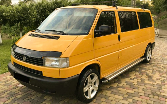 Аренда Volkswagen Transporter T4 на свадьбу Полтава